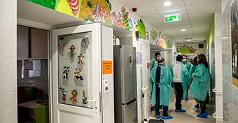 Megújult a II. Sz. Gyermekgyógyászati Klinika hematológiai osztálya