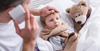 Mi a teendő, ha influenzás a gyerek?