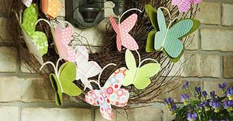 Inspiráció: kreatív húsvéti ajtódíszek