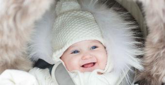 Hogyan védjük télen a baba bőrét?