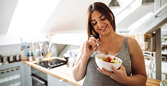 Így kellene táplálkoznod az első trimeszterben