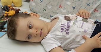 Rohamtempóban fejlődik az SMA betegségben szenvedő Levente