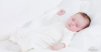 A babák alvásigénye