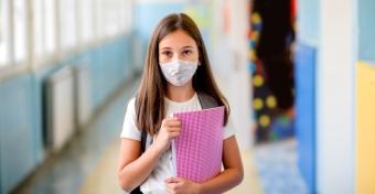 Nem csak a koronavírus miatt kérik a maszkviselést az iskolákban