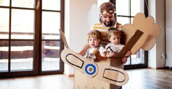 A játék által a szülő is újra gyerek lehet