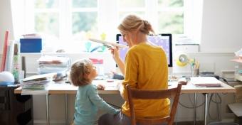 A trükk, amellyel könnyebb lesz otthonról dolgozni a gyerekekkel
