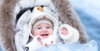 Levegőzés télen: 5 tipp a baba öltöztetéséhez