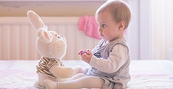 Melyik baba lesz a beszédesebb?