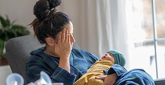 Szülés utáni depresszió idővonal - mikor kezdődik és mennyi ideig tarthat?