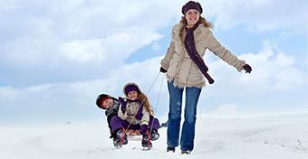 A téli szünet több gyerekkel igazi túlélőtábor