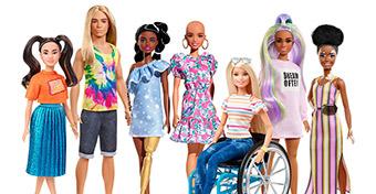 Vitiligós Barbie babát dobtak piacra