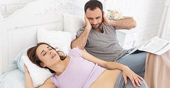 Horkolás a terhesség alatt: mit tehetünk ellene?