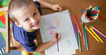 Rajzoló gyerekek