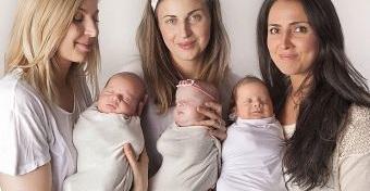 Így segít anyatársainak a hármas ikres, hármas iker édesanya