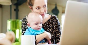 Hogy lehet otthonról dolgozni, babával?