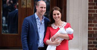 Lajosnak hívják a legifjabb brit herceget