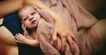 A legszebb képek a születés nagy pillanatáról