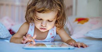 A képernyő nyomot hagy a gyerekek agymintázatában