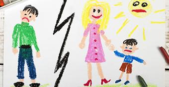 Jobban megviseli a szülők szakítása a lányokat, mint a fiúkat