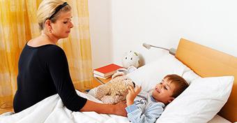 Mit egyen a beteg gyerek?
