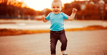 A baba fejlődése - A tizenkettedik hónap történései