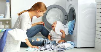 Méregtelenítsd a mosógépet, főleg, ha gyereked van