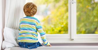 Nyolcéves kor alatt nem szabad egyedül hagyni a gyereket