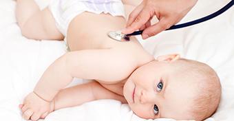 Vizsgálatok a gyermekorvosi rendelőben