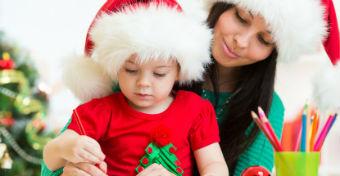 Így szórakoztasd karácsonykor a totyogót