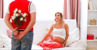 Szerelem terhesség idején