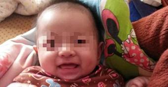 Évekkel szülei halála után született meg egy baba
