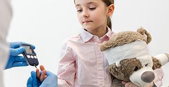Az 1-es típusú cukorbetegség néhány hét alatt kialakulhat a gyerekeknél