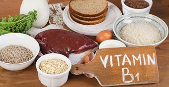 A B1-vitaminhiány (beri-beri) tünetei
