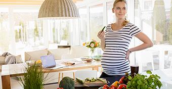 Napi ajánlott kalóriabevitel a terhesség alatt