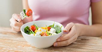 Hiedelmek a szoptatós étrendről