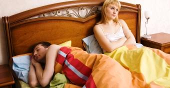 A férjem megkímél a szextől