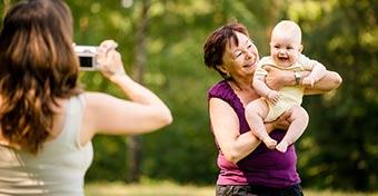 A nagyi lehet a hosszú élet és a jó kapcsolat egyik titka