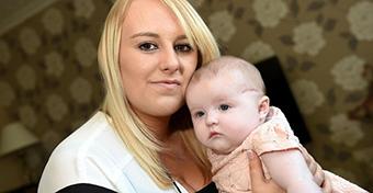Belevágott a baba fejébe az orvos a császármetszés során