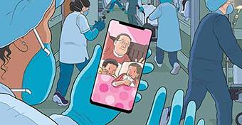Címlapon, mekkora áldozatot hoznak az orvosok