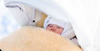 Mínusz 5 fok alatt ne vidd ki a babát