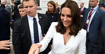 Ezért akar otthon szülni Katalin hercegné