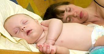 Erre figyelj, ha együtt alszol a gyerekkel!