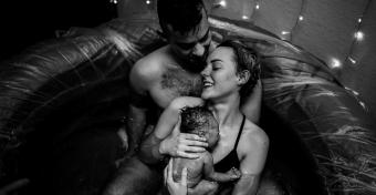 Lenyűgöző képek a születés csodájáról