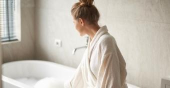 Mikor szabad fürdened szülés után?