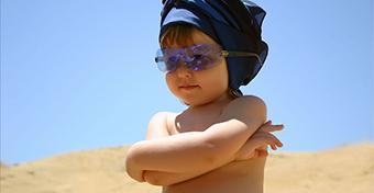 Milyen napvédőt használjunk a gyereknél?