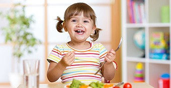 Mit árul el a gyermekedről, hogy milyen típusú evő?