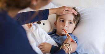 Árulkodó jelek, hogy komolyabbra fordult a gyereknél az influenza