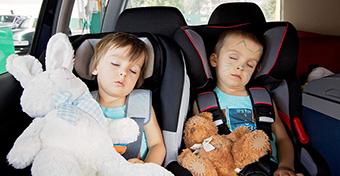 Sose hagyd az autóban a gyereket!