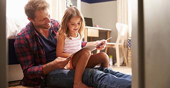 Újabb pozitív hatása derült ki a jó apa-lánya kapcsolatnak