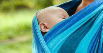 Hordozóban a legvédettebb a baba